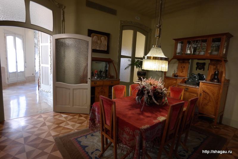Комнаты в доме Мила