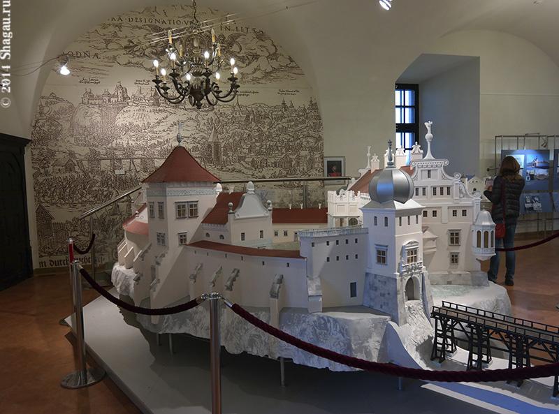 Макте Гродненского замка