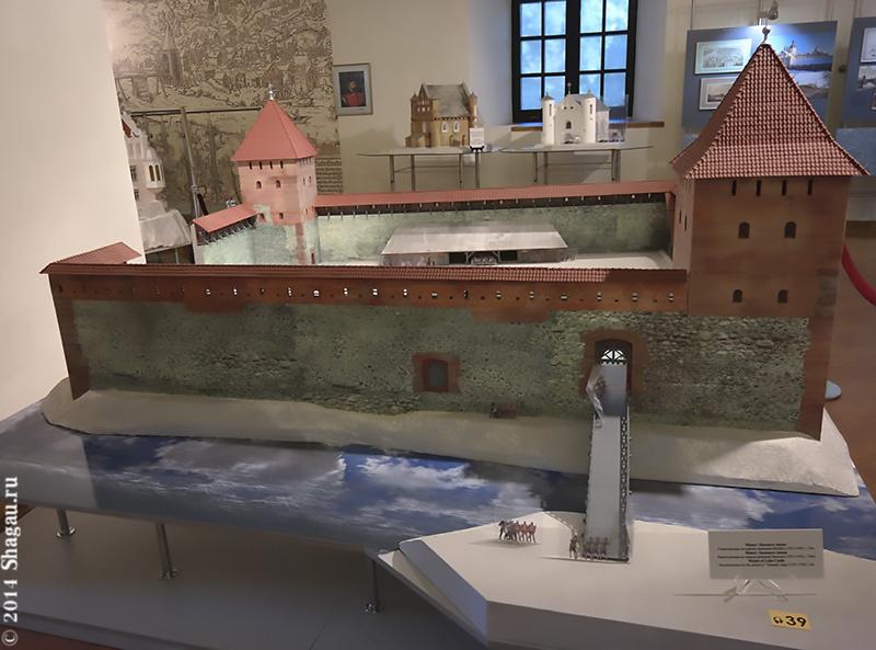 Макет Лидского замка