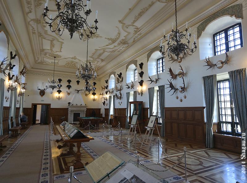 Интерьеры Несвижского замка