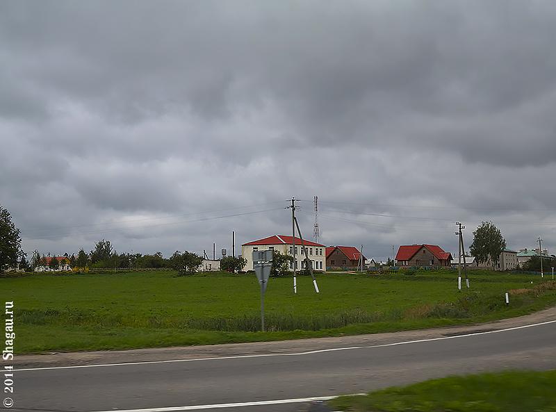 По дороге в Белоруссию