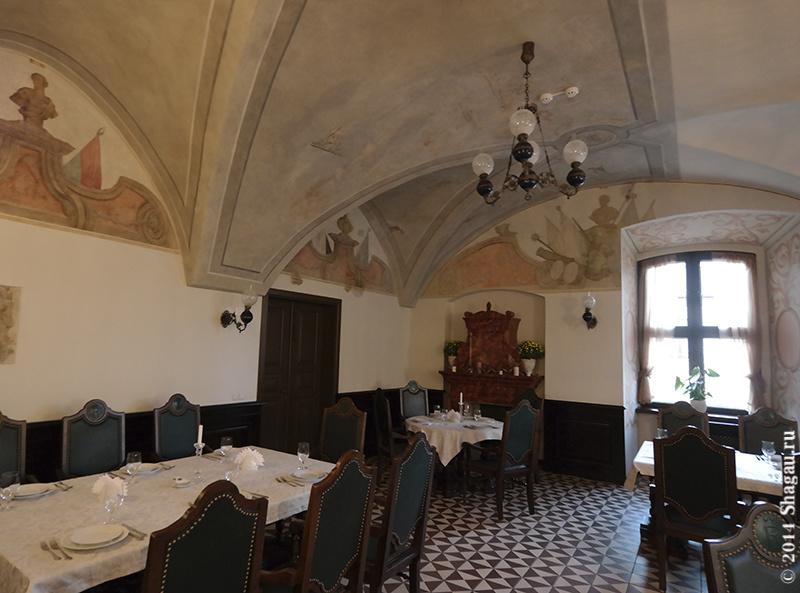 В ресторане Гетман в Несвижском замке