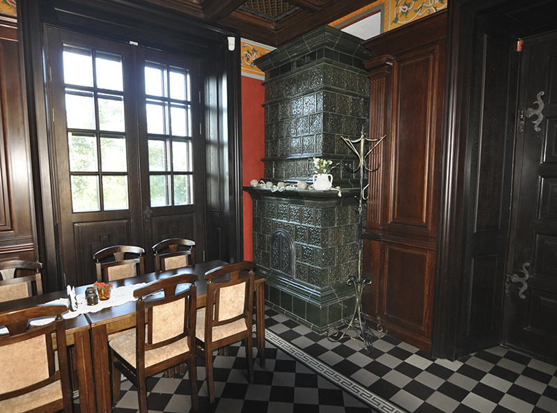 Кафе в Несвижском замке