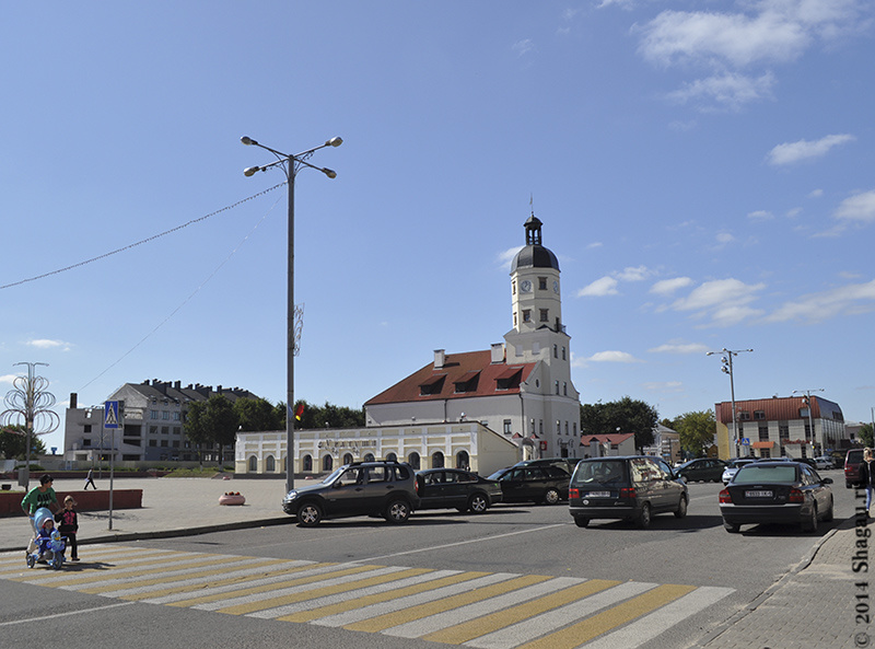 Центральная ратуша Несвижа