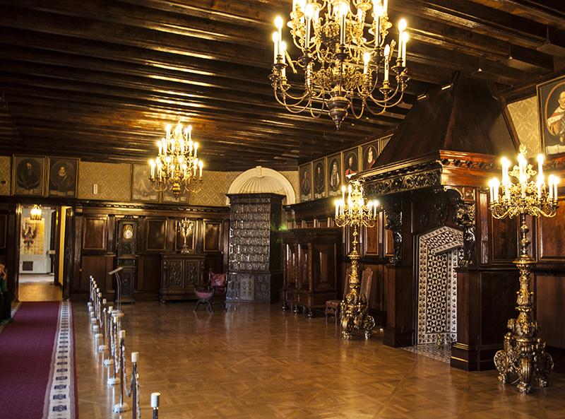 Интерьеры музея замка Несвижа