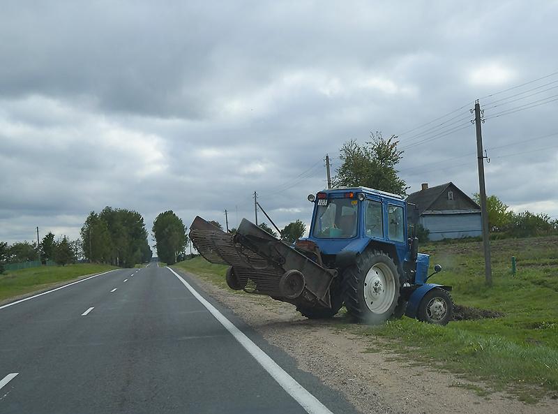 Трактор Беларусь