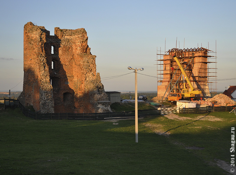 Развалины Новогрудского замка