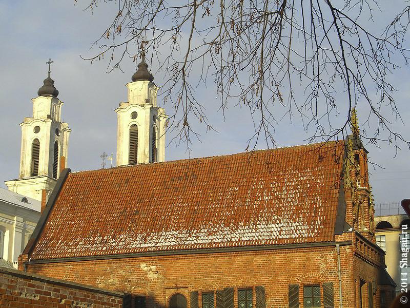 Крыша дома Перкунаса