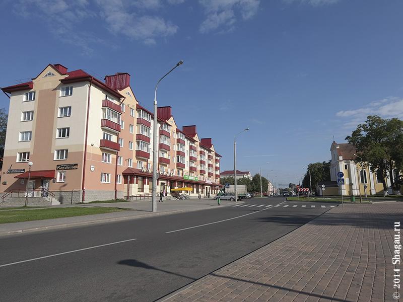 Центр города Лида
