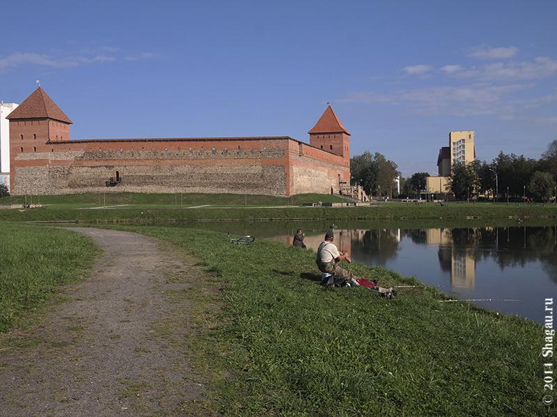 Рыбаки у Лидского замка