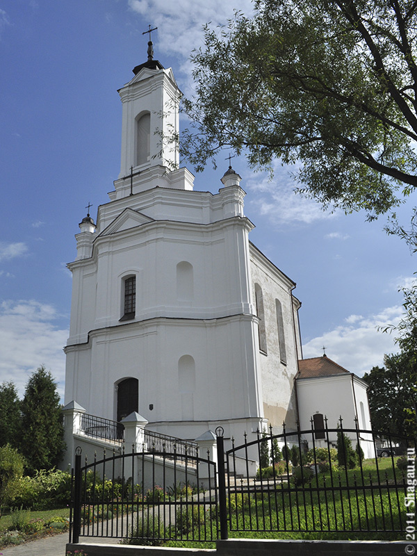 Костел в Заславле