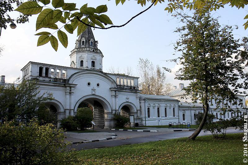Передние ворота Государева двора в Измайлово