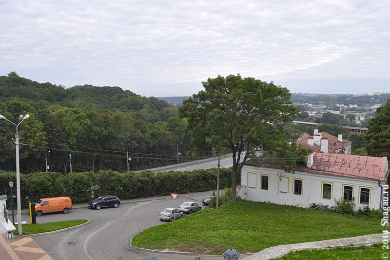 Вид на город с высоты Успенского собора
