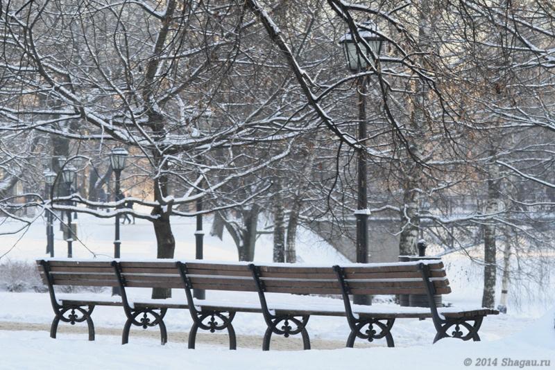 В парке Эспланада