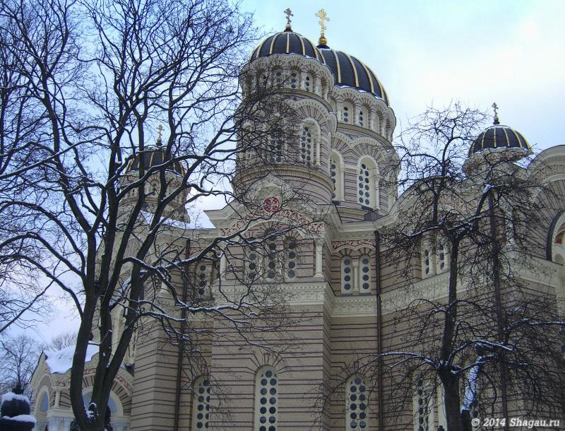 Рига. Христорождественский православный собор