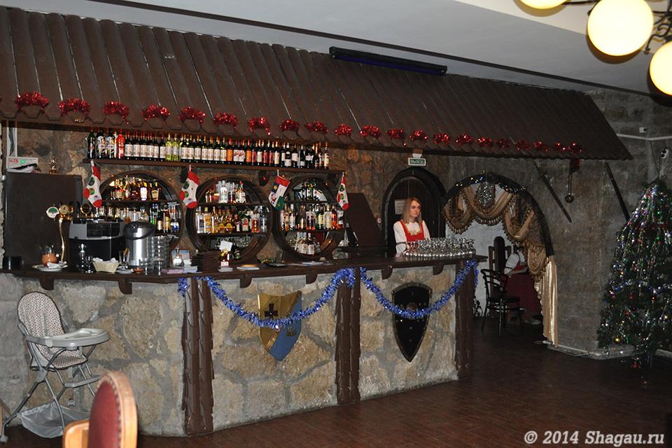 Ресторан Русь. Первый этаж