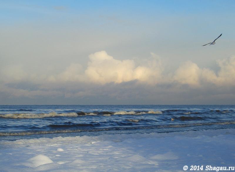 Юрмала. Балтийское море зимой