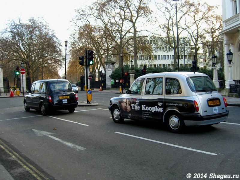 На улицах Лондона