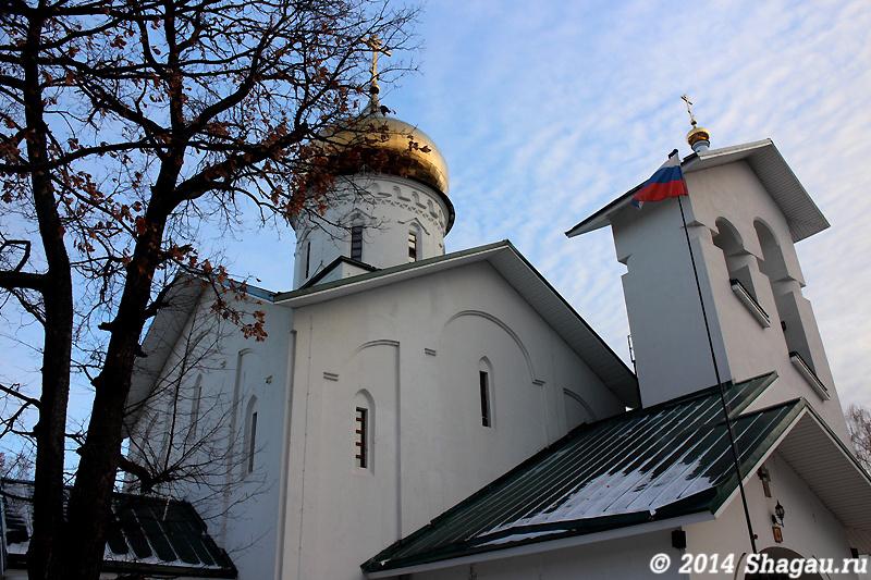 Ашукино. Храм Александра Невского