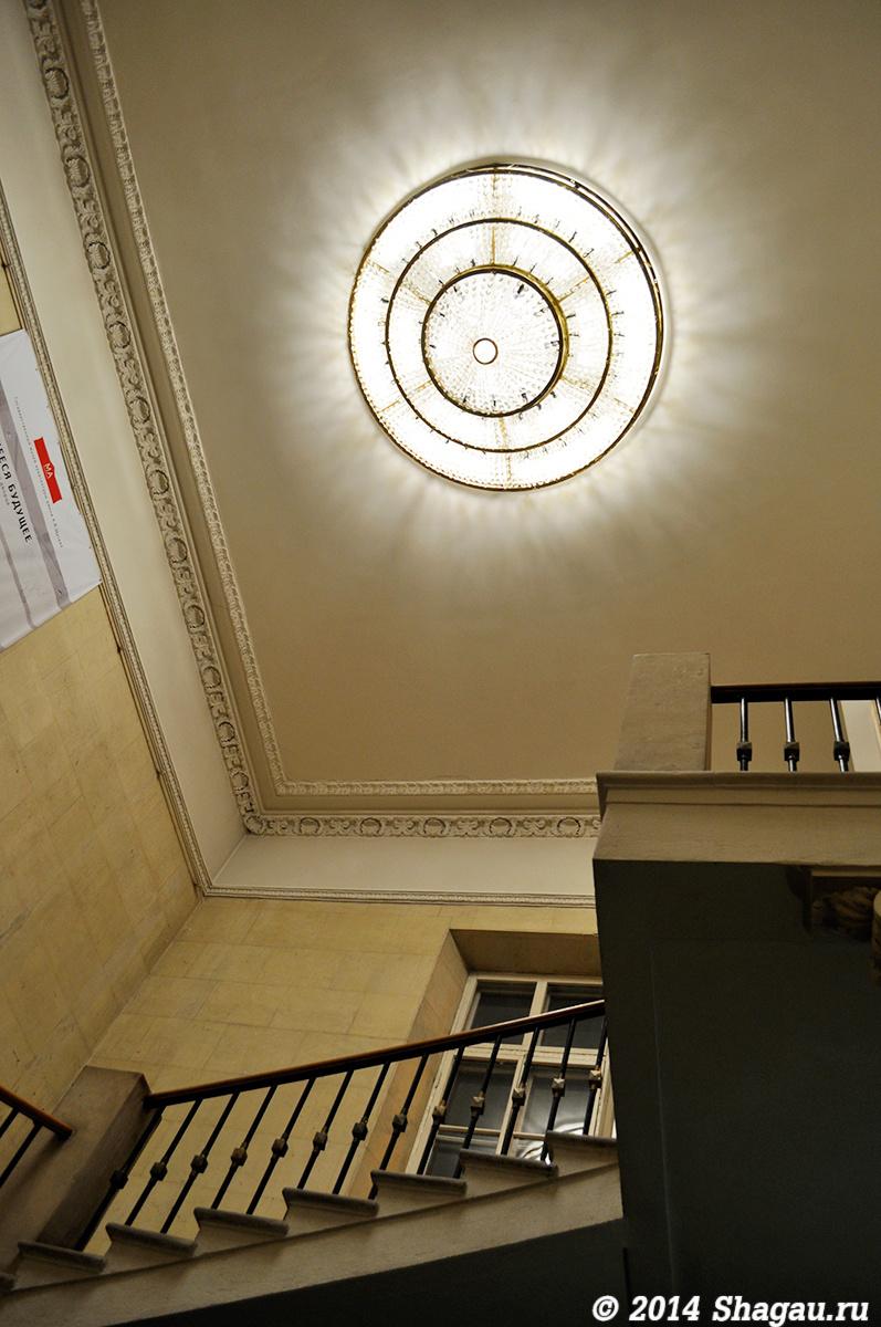 Усадьба Талызина. Лестница на второй этаж