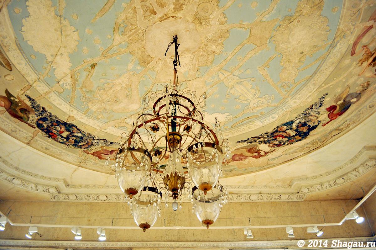 Усадьба Талызина. Потолочная роспись