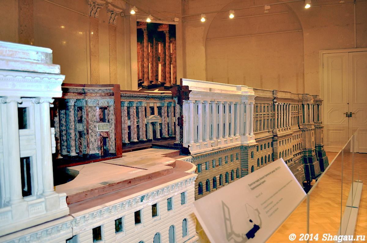 Часть макета Большого кремлевского дворца