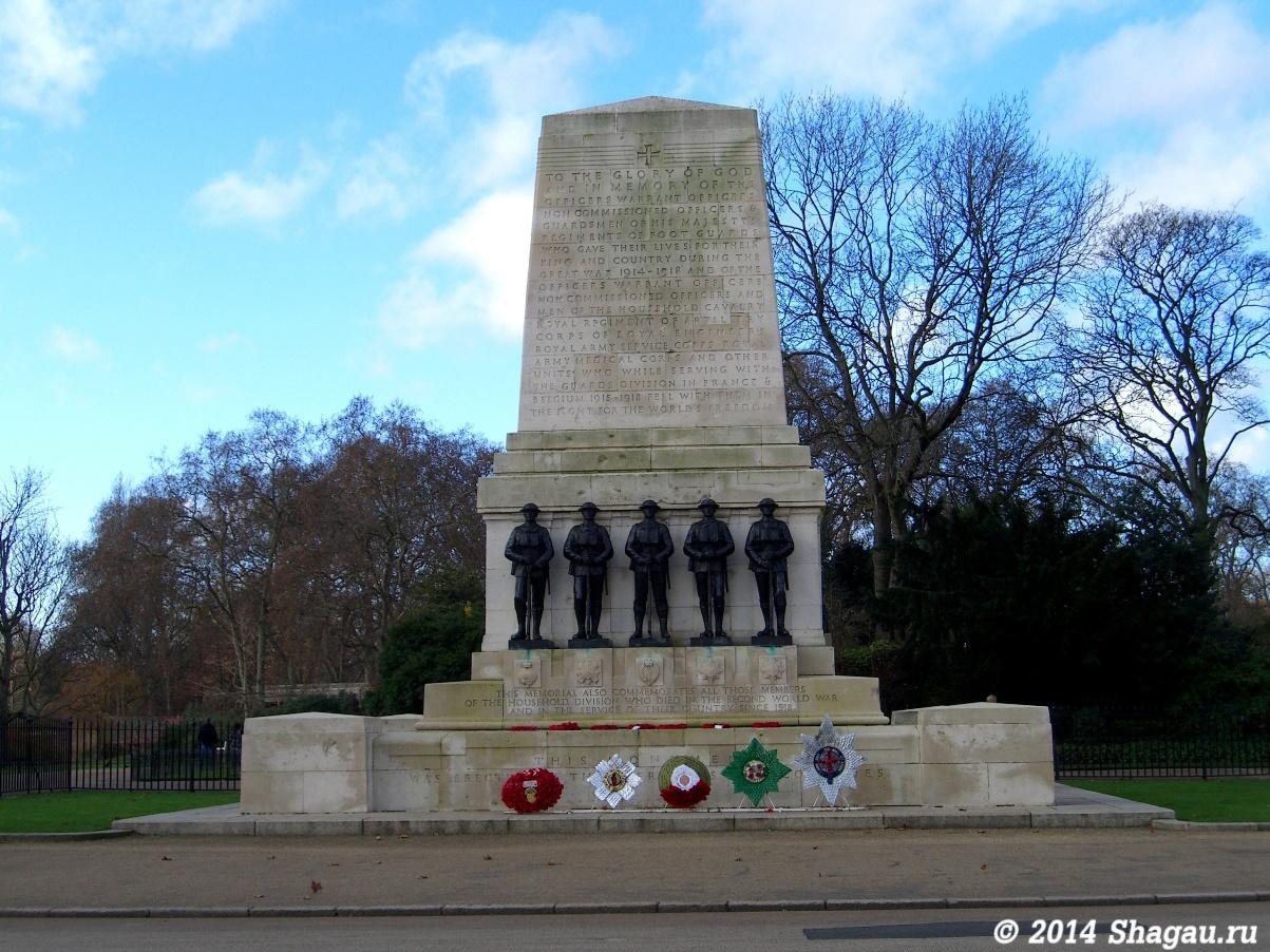 Монумент, посвященный погибшим в Первой и Второй мировой войне