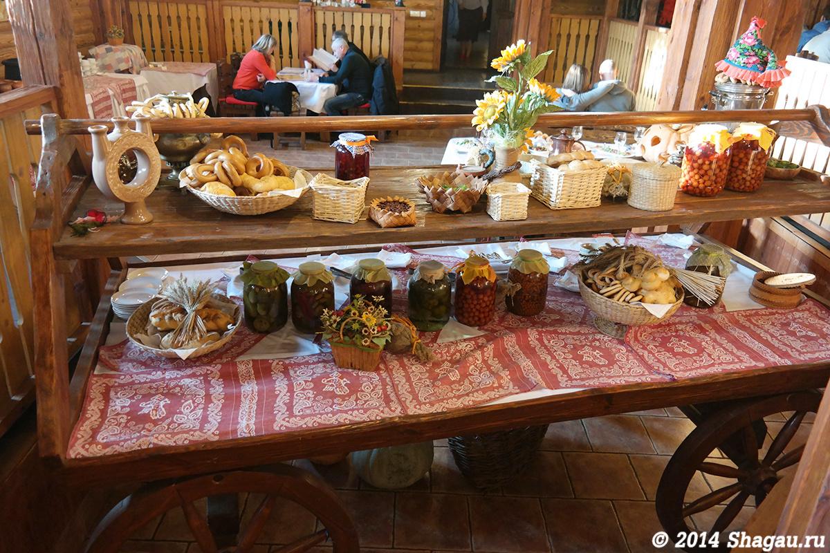 Ресторан Юрьево подворье. Разносолы