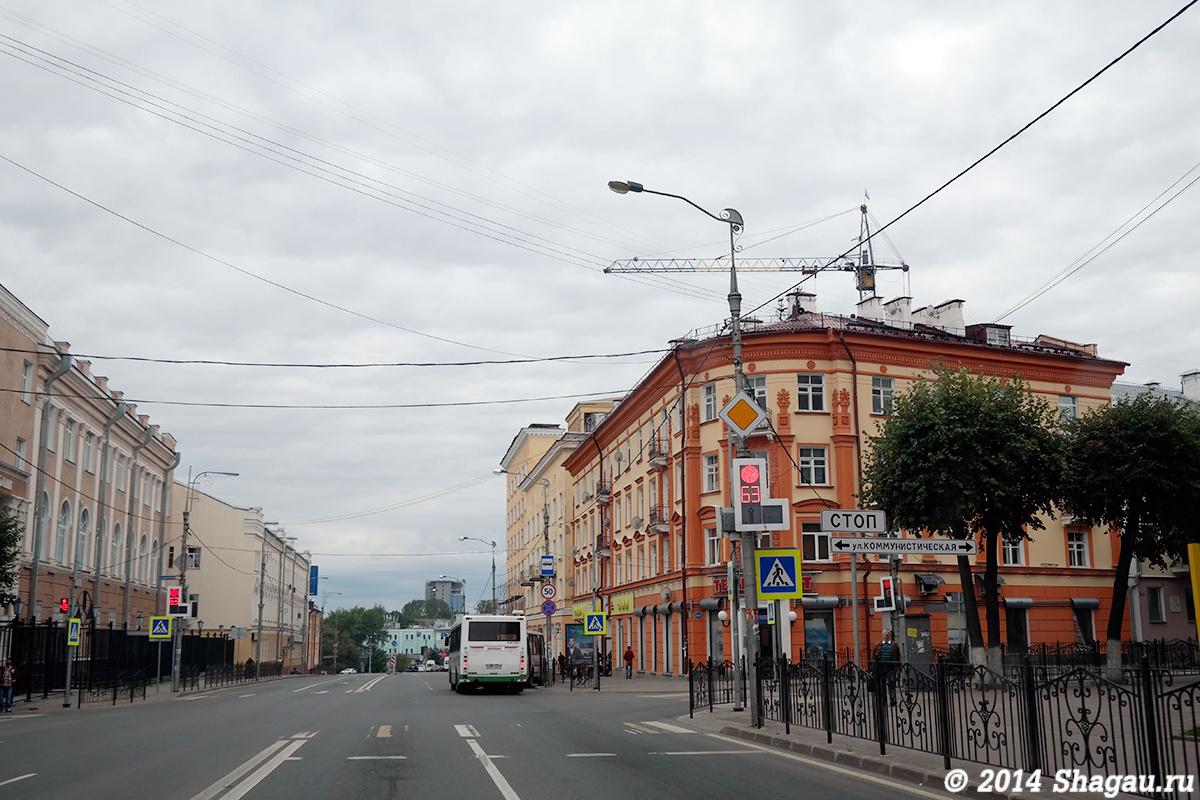 На улицах Смоленска