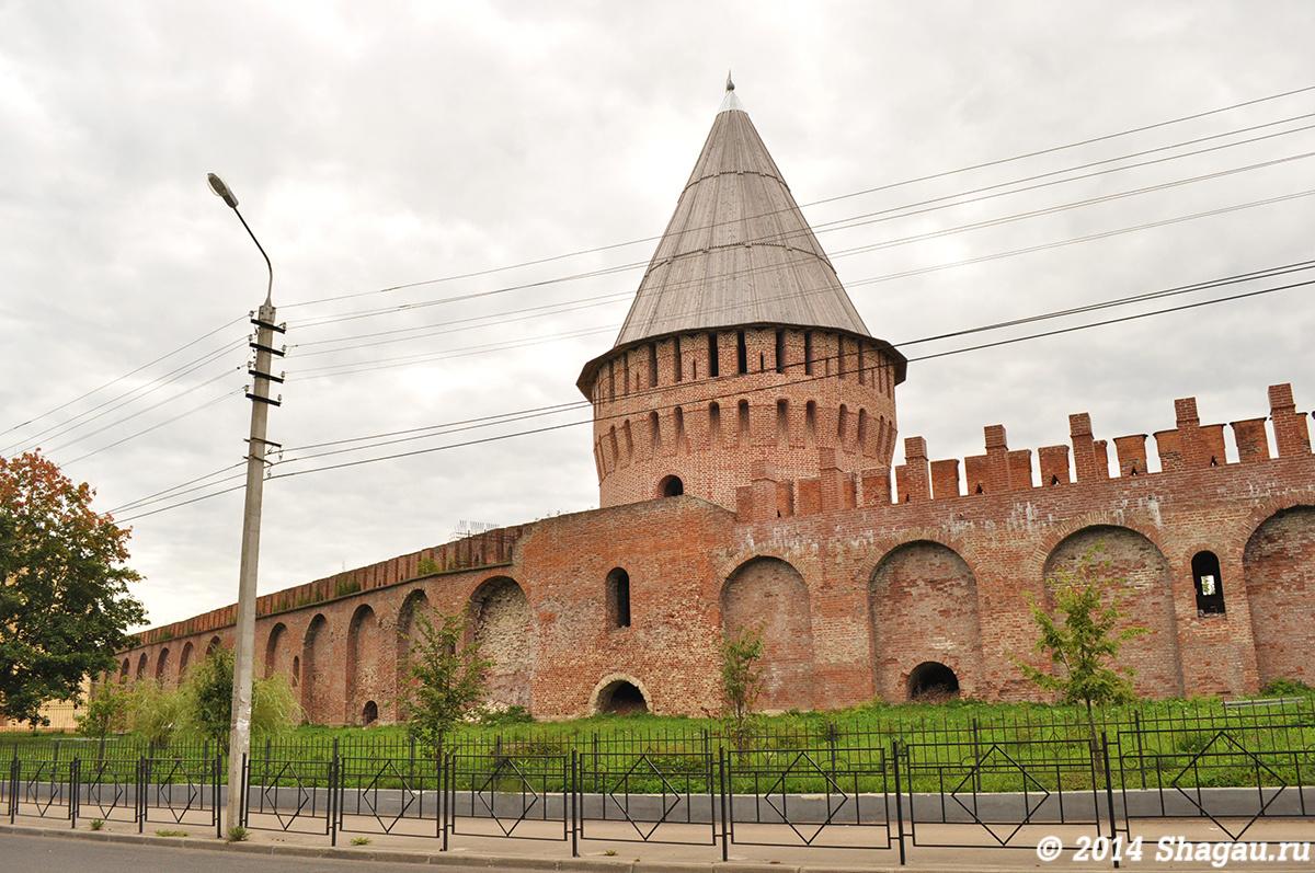 Фрагмент крепостной стены Смоленска