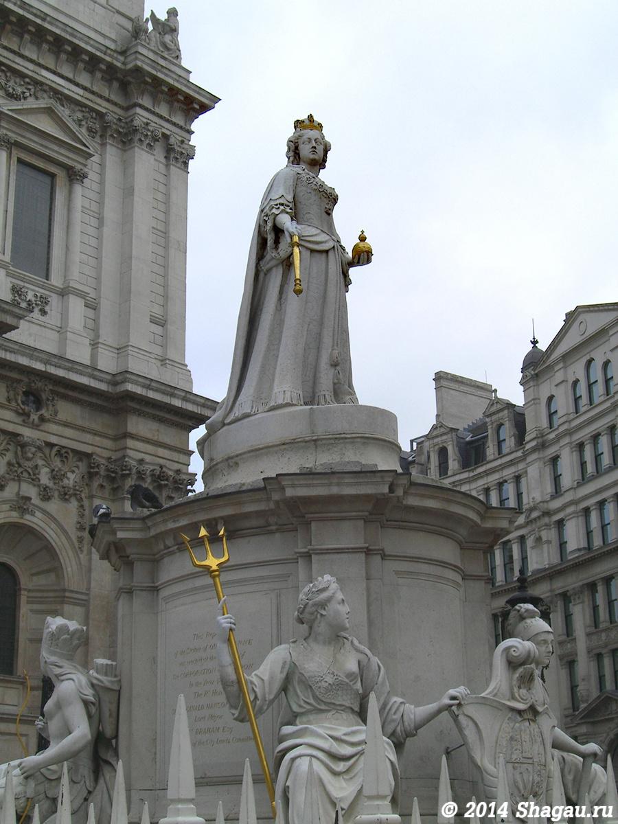 Статуя королевы Анны