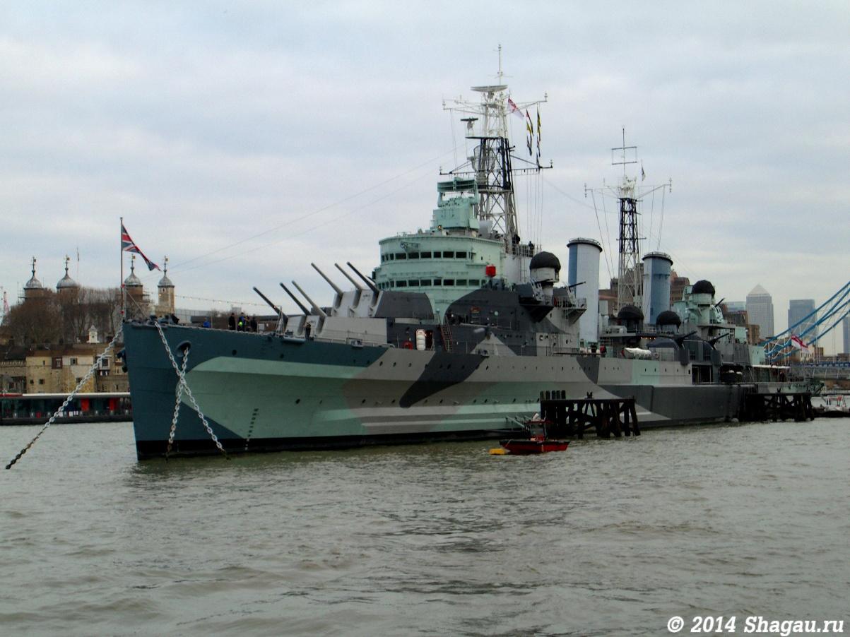 Корабль-музей «Белфаст»