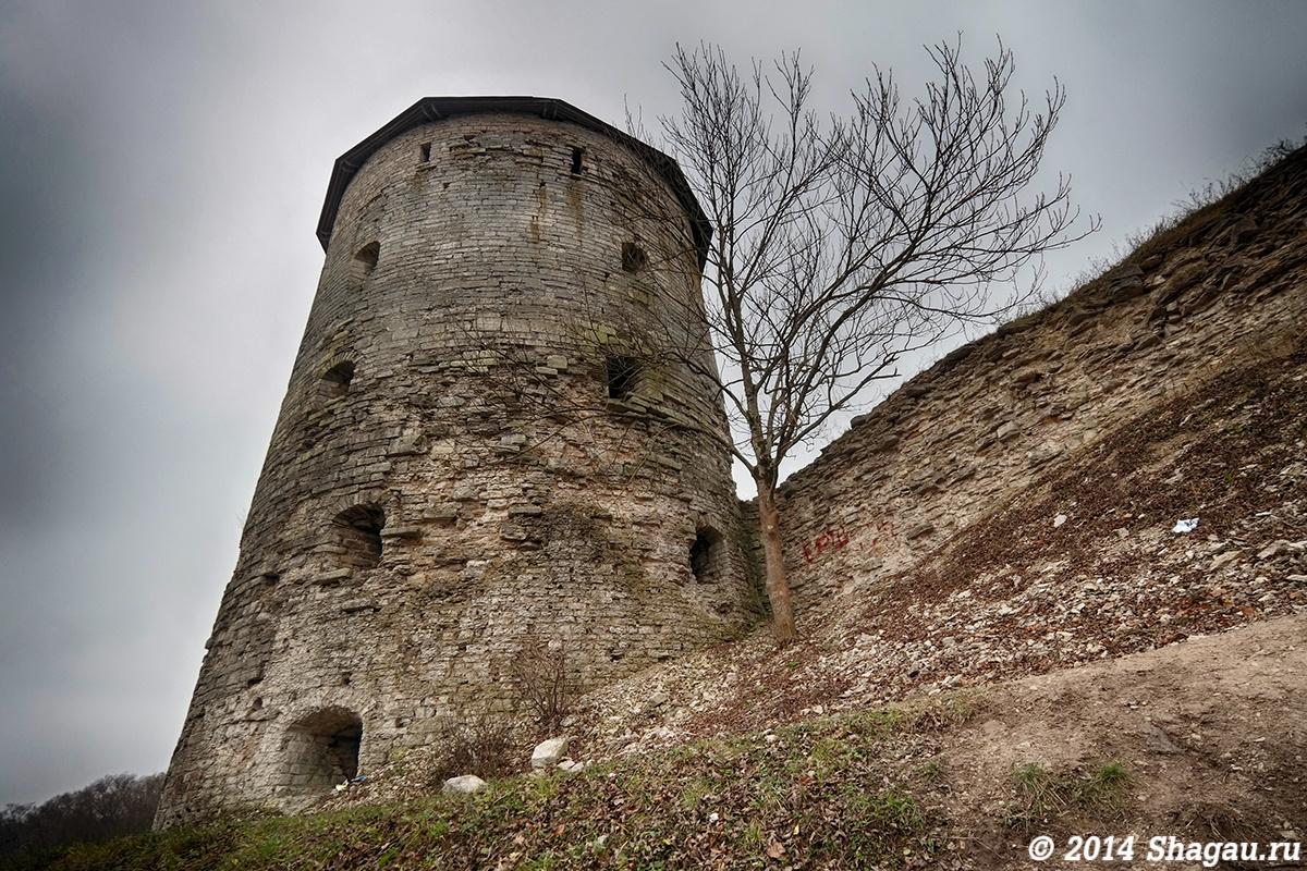 Стены старого Пскова
