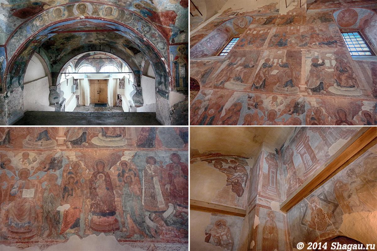 Росписи в Новгородских храмах