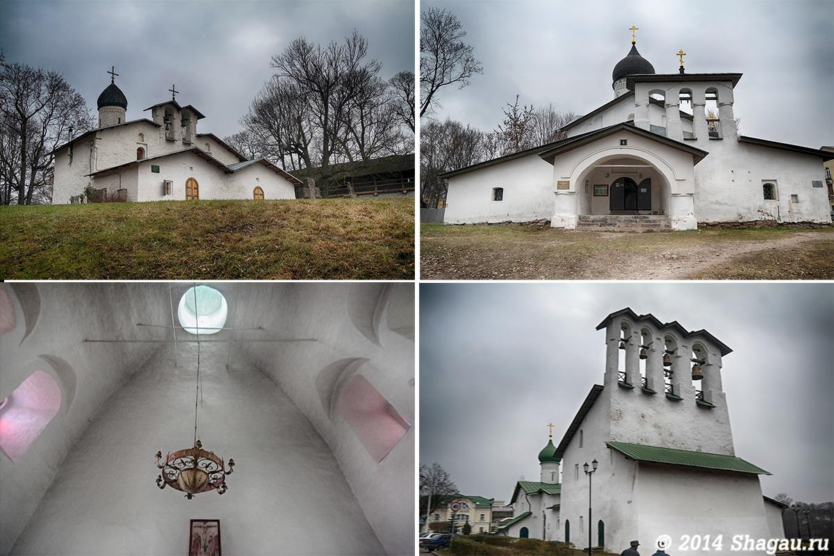 Псковские церкви