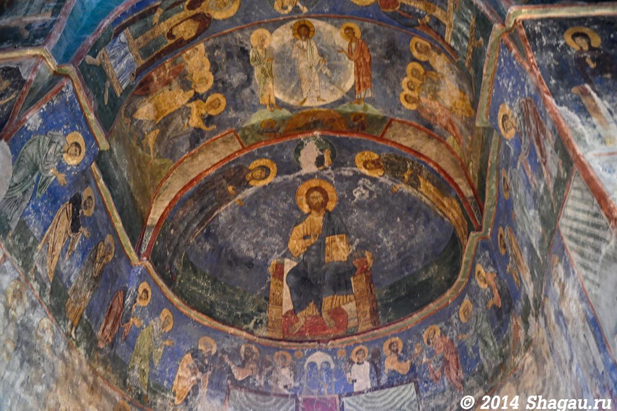 Фрески Мирожского монастыря