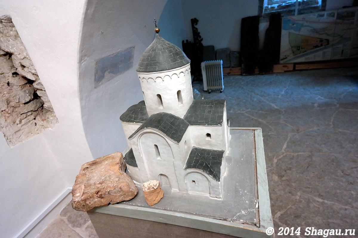 Первоначальный вид Преображенского собора