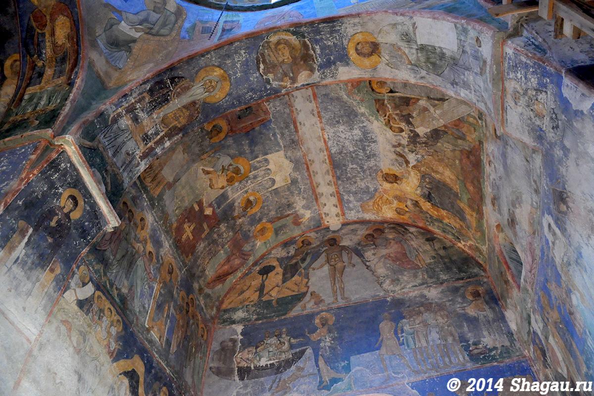 Фрести Мирожского монастыря