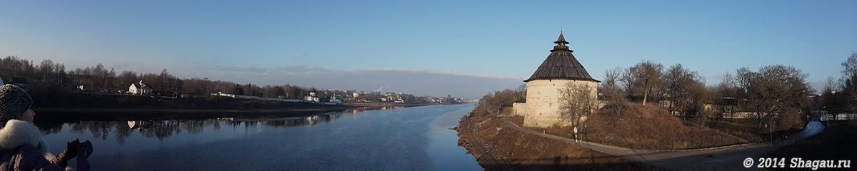 Панорама реки Великой