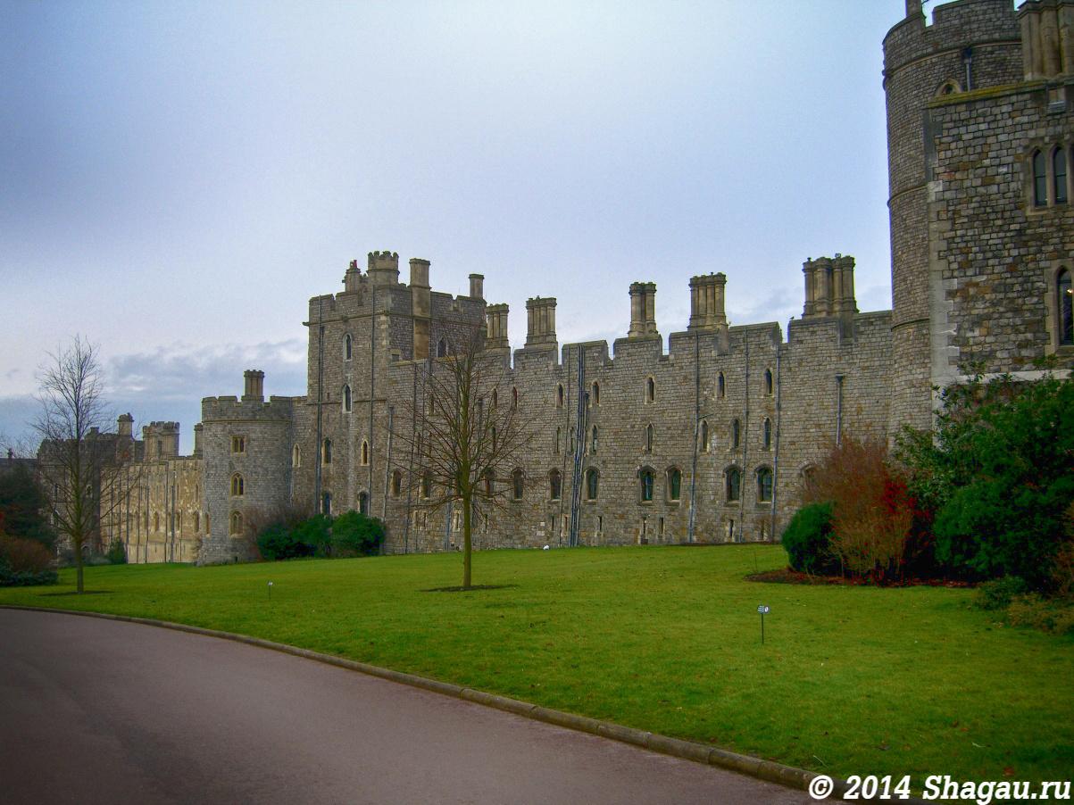 Стены Винздорского замка