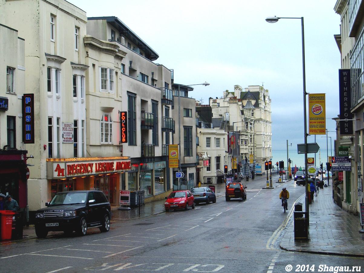 Брайтон. Queen street