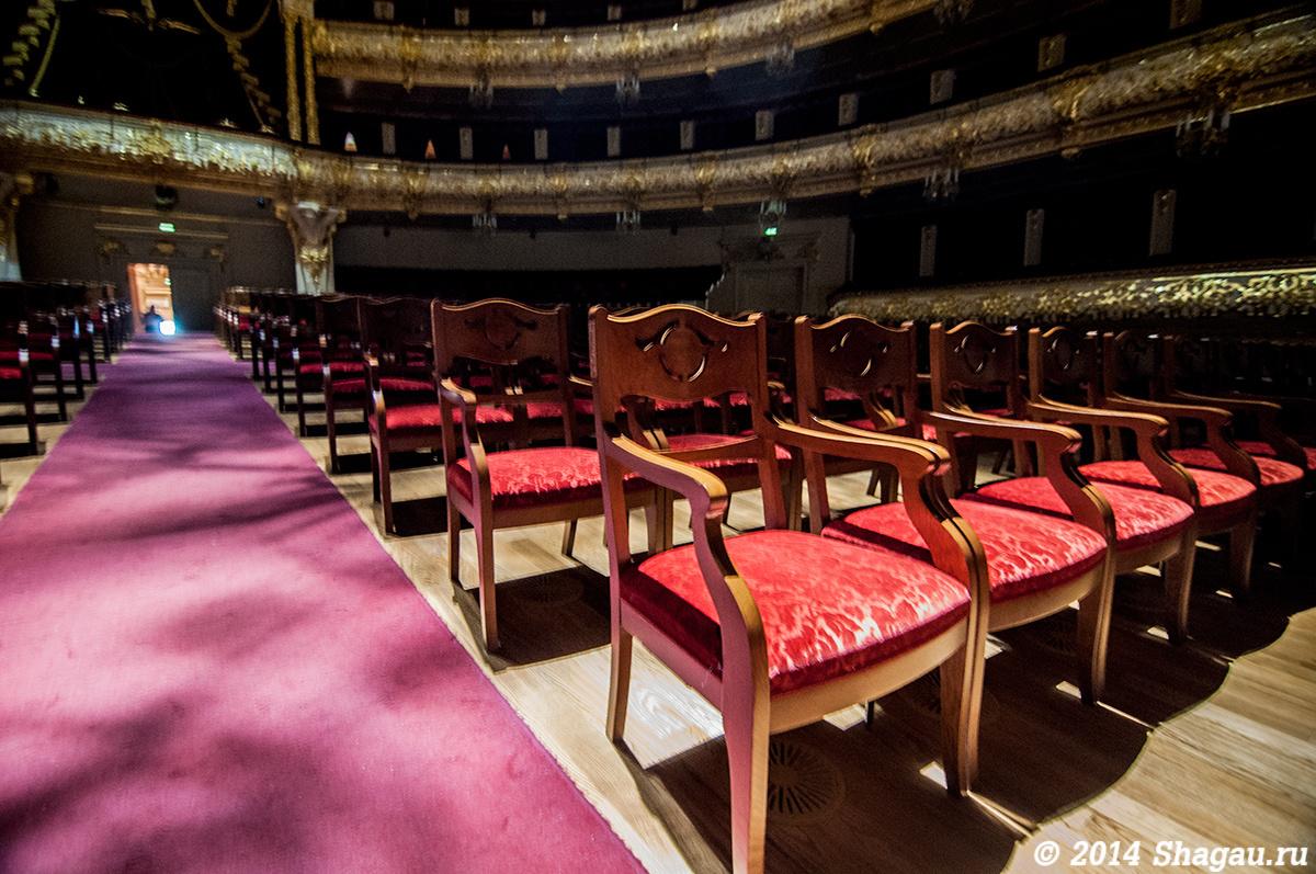 В Зрительном зале Большого театра