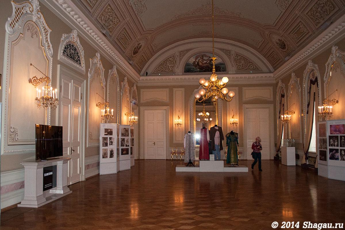 Зал, где расположен музей