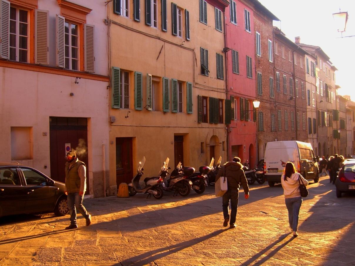 Улицы Сиены