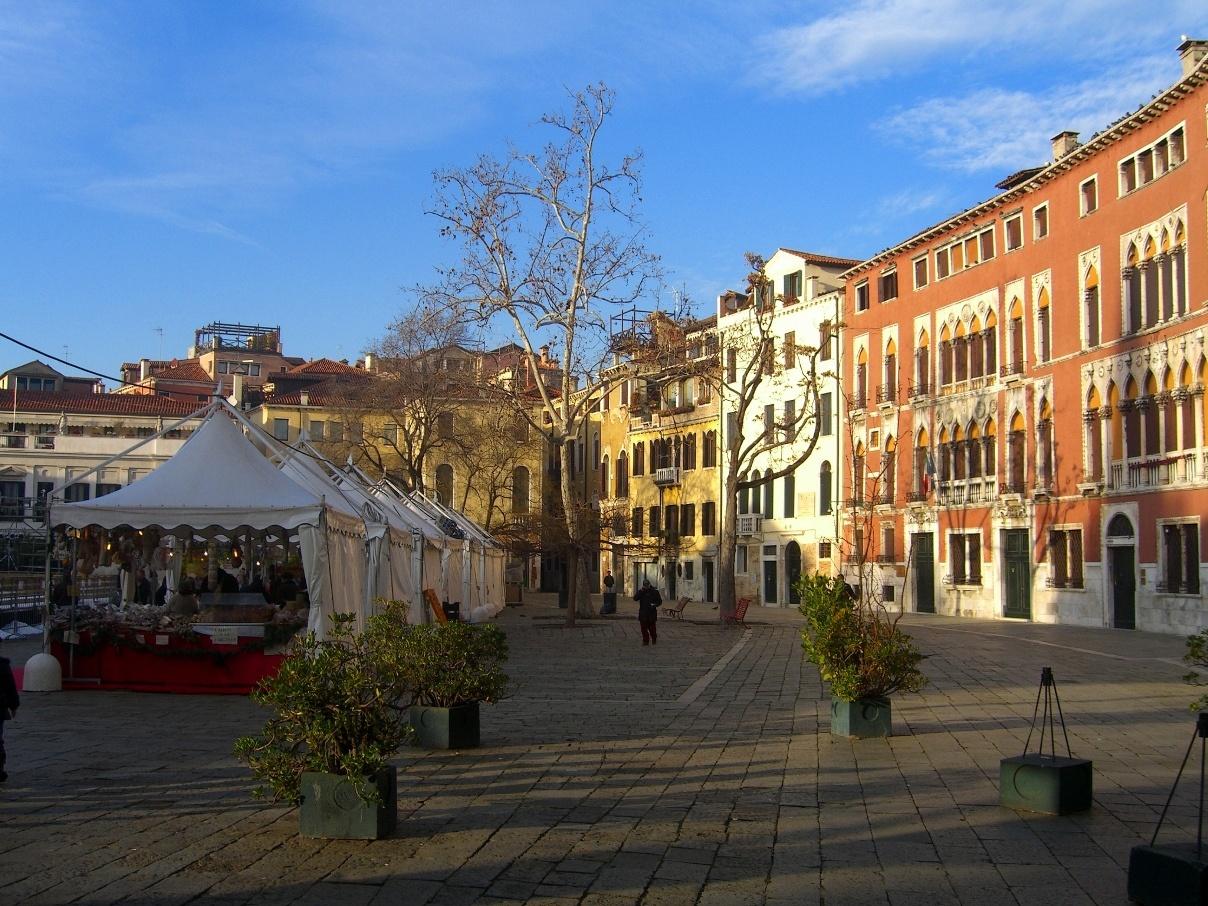 Рождественская ярмарка Венеция
