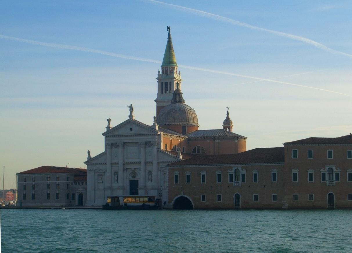Вид на Венецию с моря