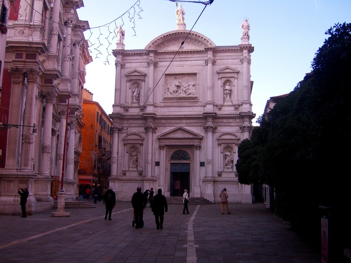 Церковь Сан-Рокко Венеция
