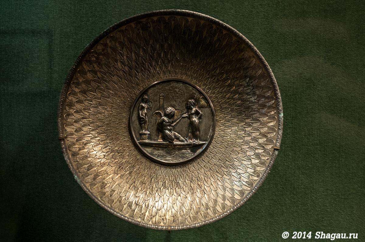 Серебряные чаши. I-II века нашей эры.