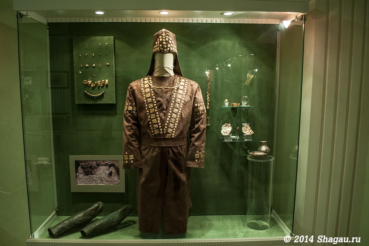 Предметы из гробницы Скифского царя