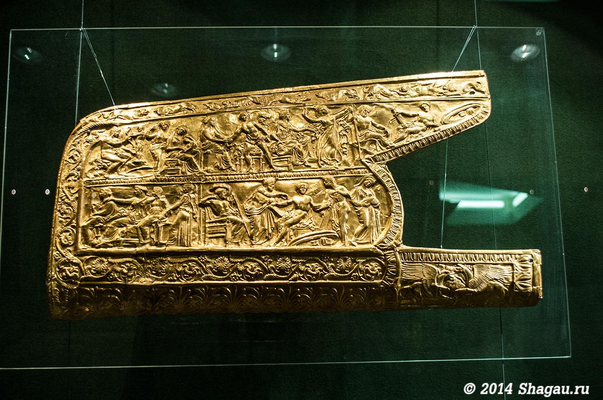 Обивка горита, золото IV век до нашей эры